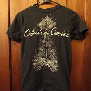 Coheed and Cambria Shirts - COHEED AND CAMBRIA 2007 TOUR T-SHIRT 👕 Rock Music